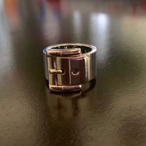 Michael Kors Buckle Ring Size 6